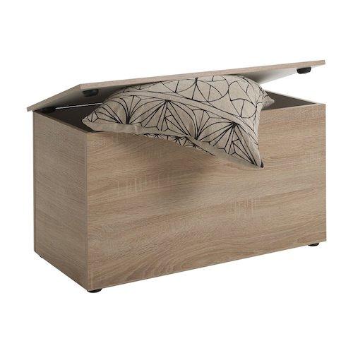Baúl de madera de roble moderno