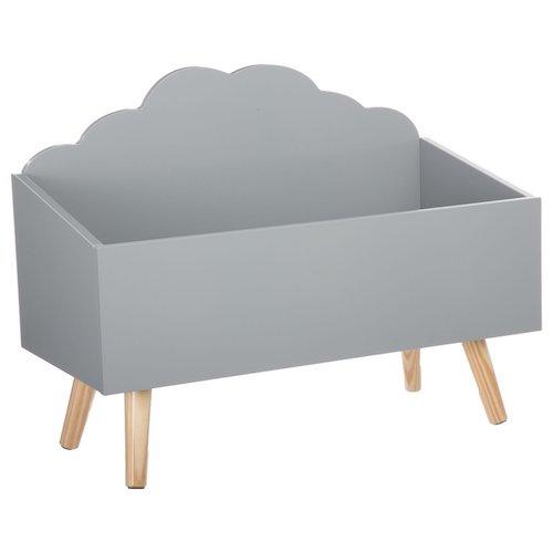 Baúl de madera mueble de almacenamiento