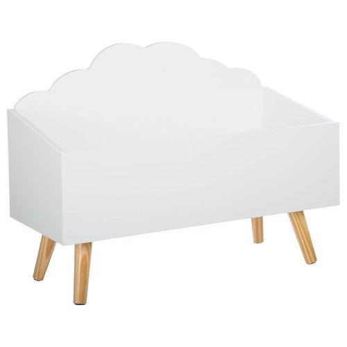 Baúl de madera mueble de almacenamiento | Baúl de madera